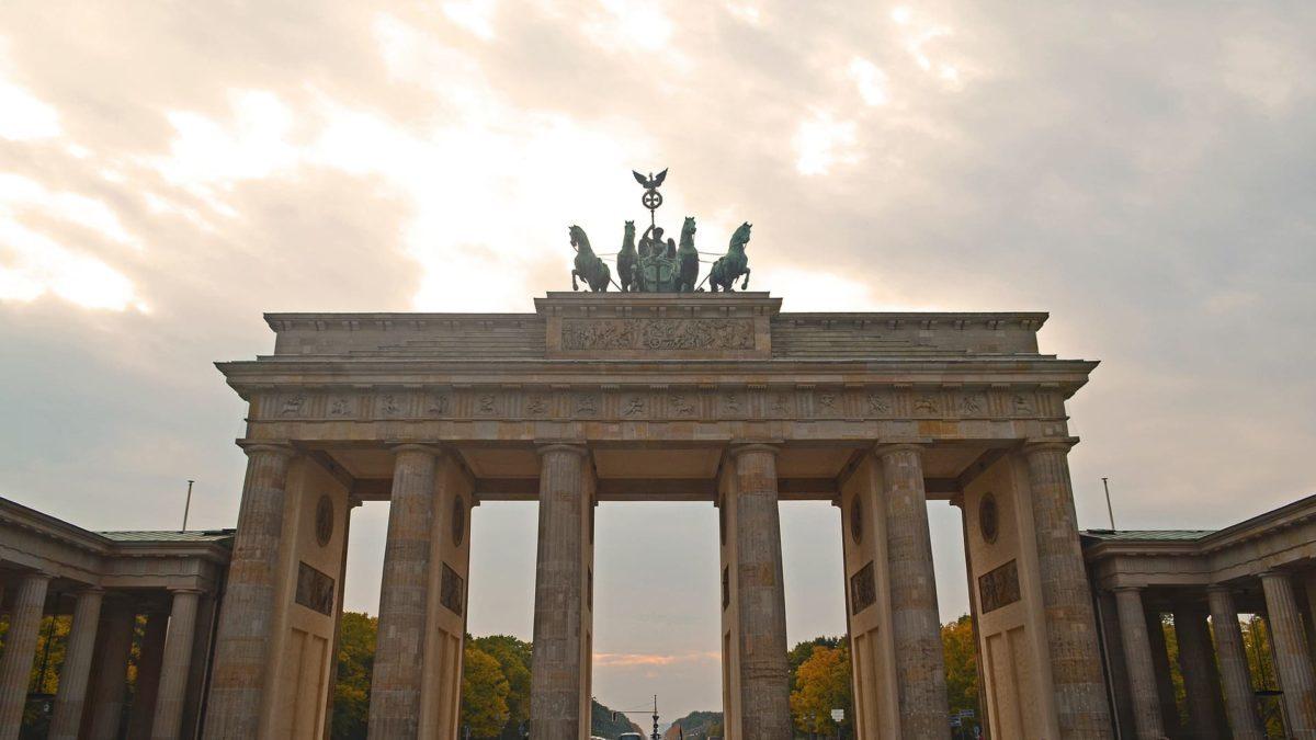 Das Brandenburger Tor in Berlin, Deutschland