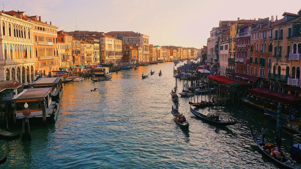 Der Grand Canal in Venedig, Italien