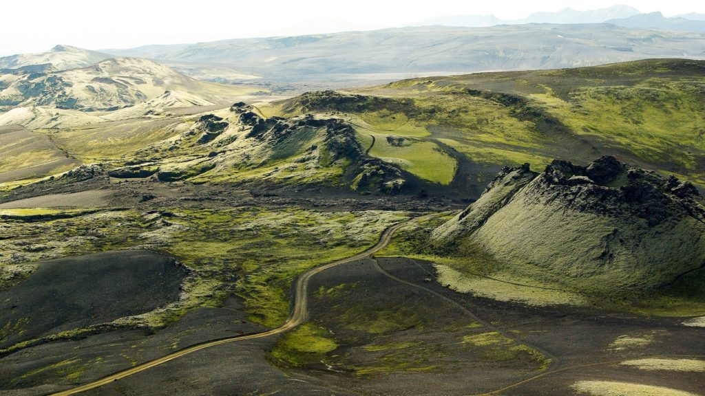 Die grüne Vulkaninsel Island