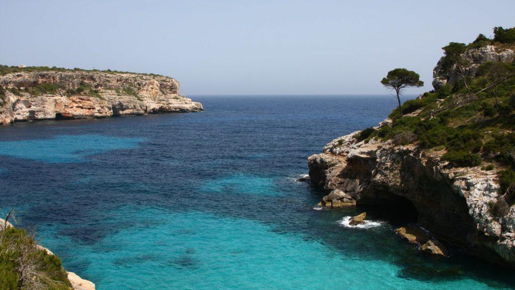 Die spanische Insel Mallorca.
