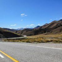 Die Straßen von Neuseelands.