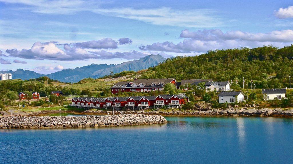 Norwegen mit seinen Fjörden und Seen in Skandinavien