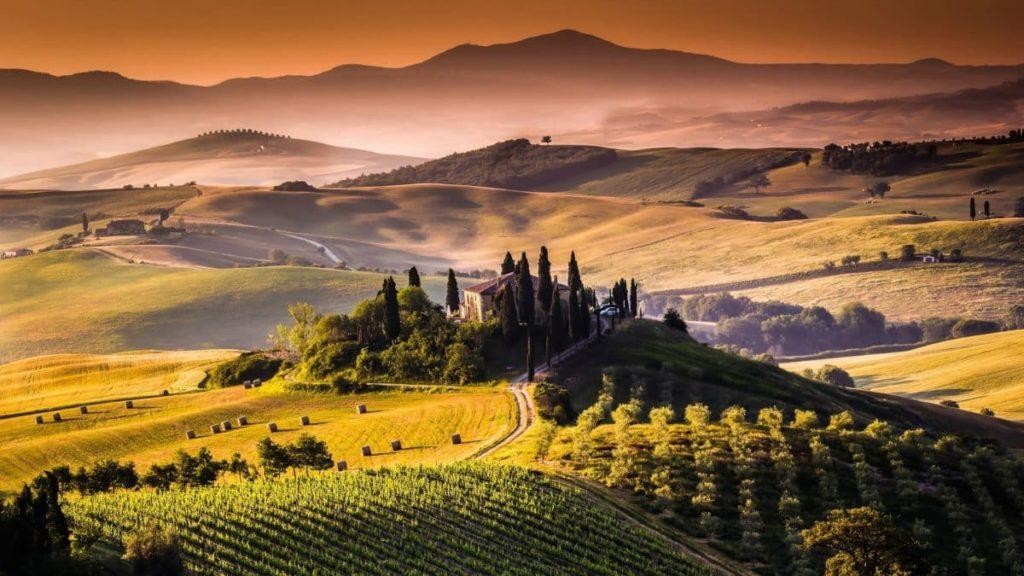 Die wunderschöne Toskana in Italien