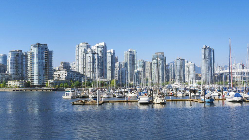 Hafen von Vancouver in Kanada
