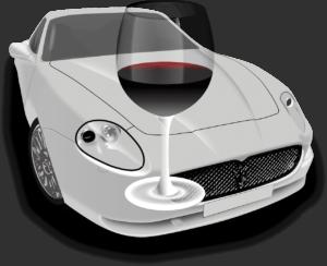 Alkohol und Autofahren ist verboten