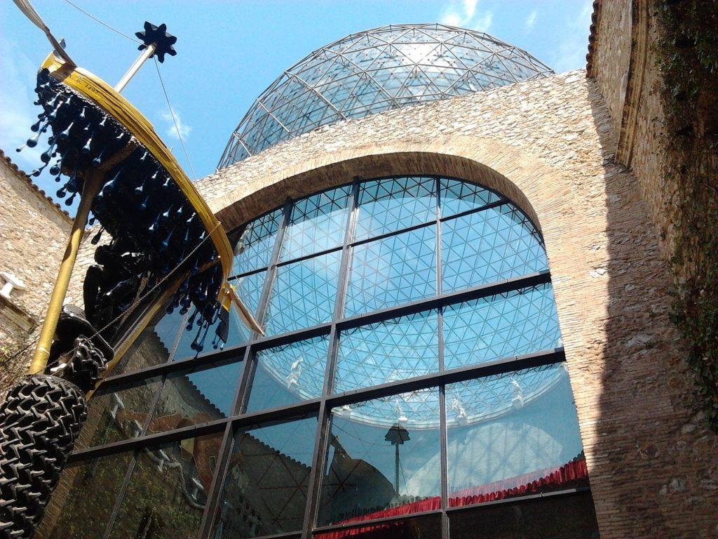 Das Salvador Dali Museum in Fugeres, Spanien.
