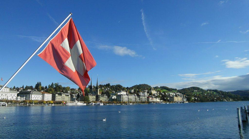 Blick auf Luzern in der Schweiz