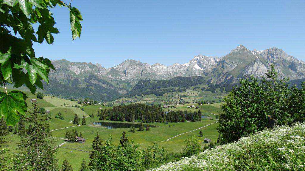 Die Bergweilt der Schweizer Alpen