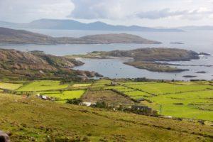 Die grüne Küste von Irland
