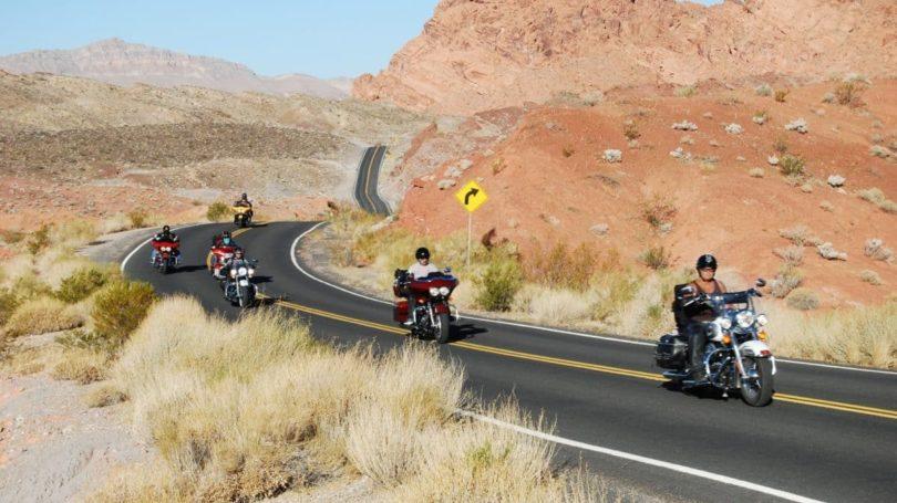 Easy Rider von heute quer durch den Canyon