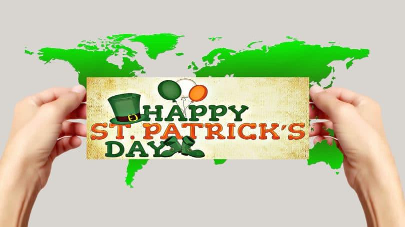 Der irische St. Patricks Day wird auf der ganzen Welt gefeiert.