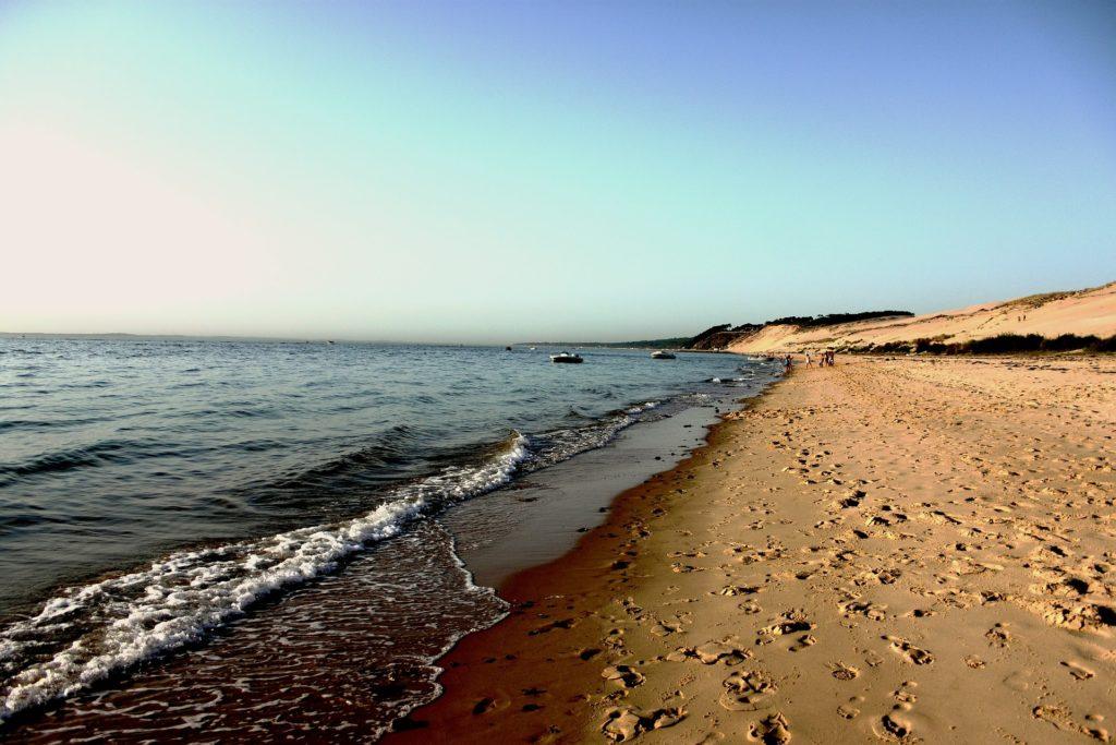Die Dune du Pilat direkt am Atlantik in Frankreich.