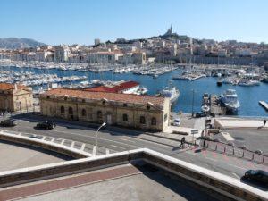 Die französische Stadt Marseille mit ihrem schönen Hafengelände.