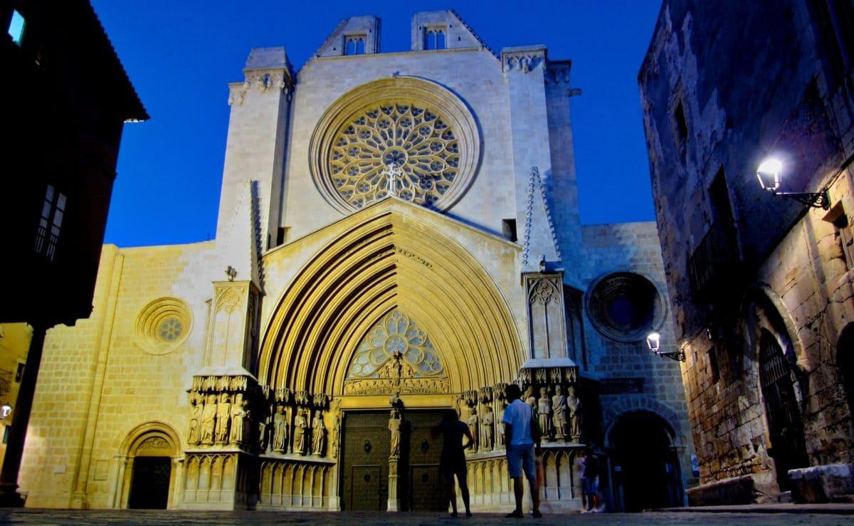 Die Kathedrale von Tarragona in Spanien.