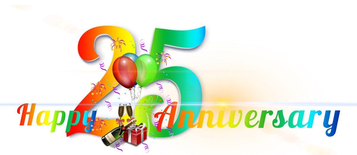 25 Jahre Firmenjubiläum