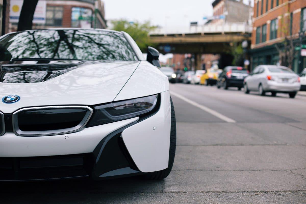 Elektrofahrzeug BMW i8