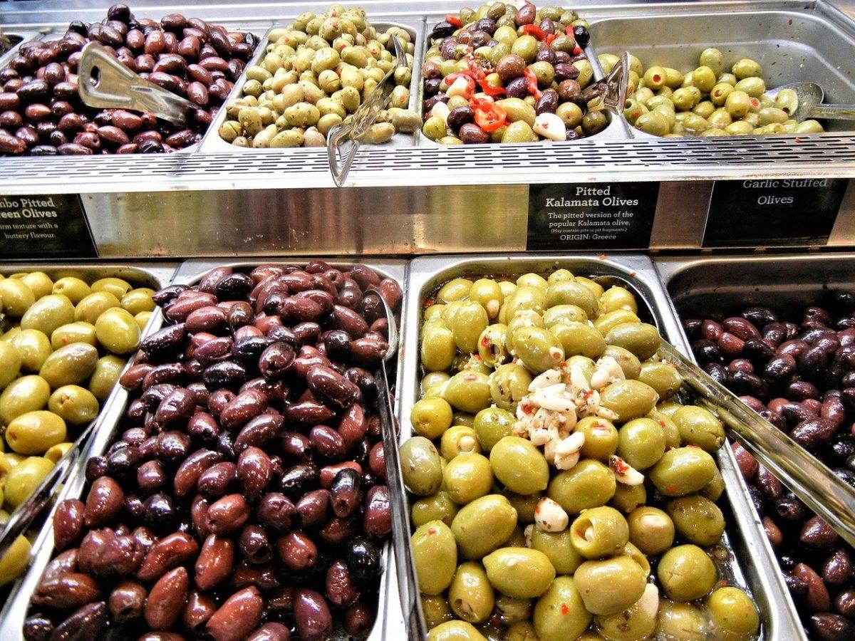Kalamon Oliven aus der Stadt Kalamatan