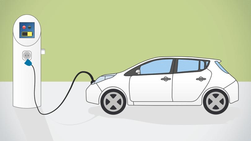 Ladesäule für Elektroautos