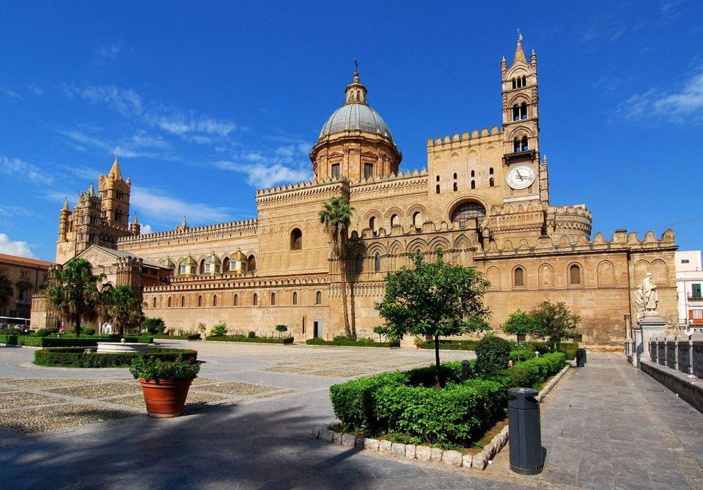 Haupstadt Palermo auf Sizilien