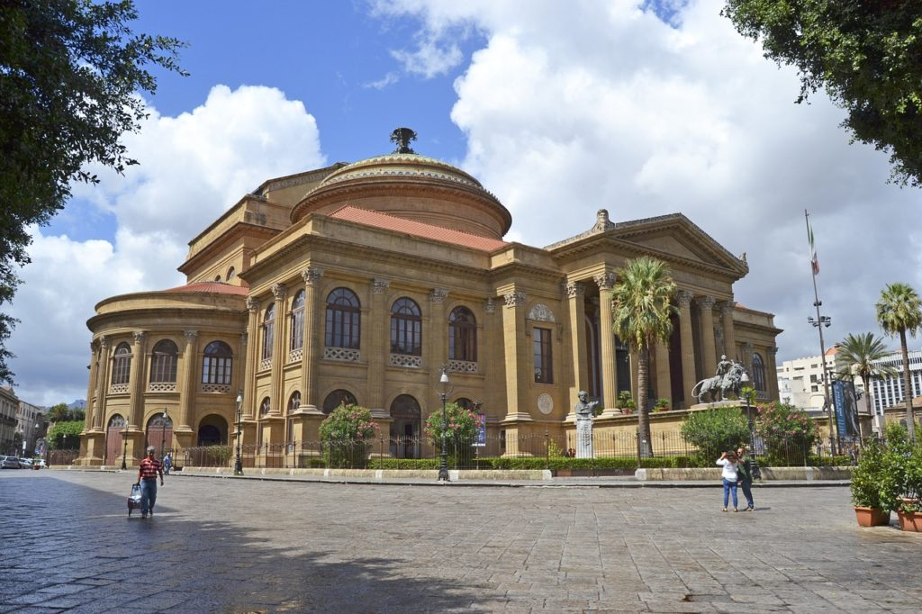 Teatro Massimo in Palermo, Sizilien