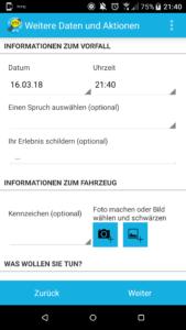 Wegeheld-App: Informationen zum Vorfall