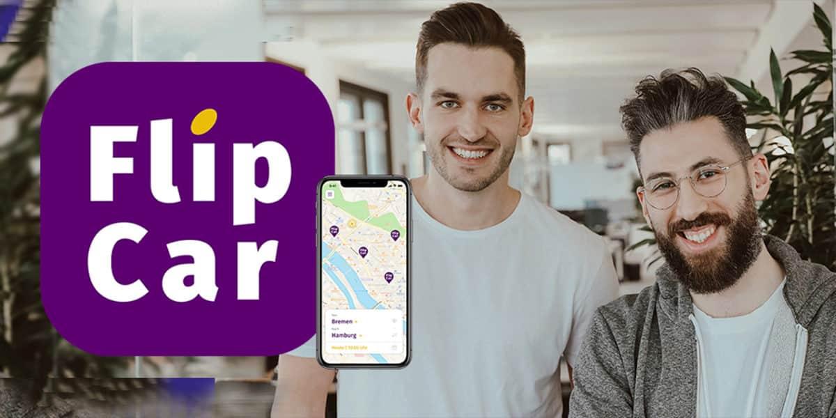 """Die Gründer von """"FlipCar"""" Okan Gürsel und Sven Gunkel"""