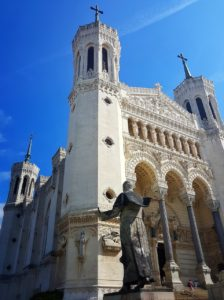 Basilica Cathedral in Lyon
