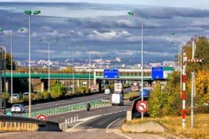 Autobahn nach Lyon
