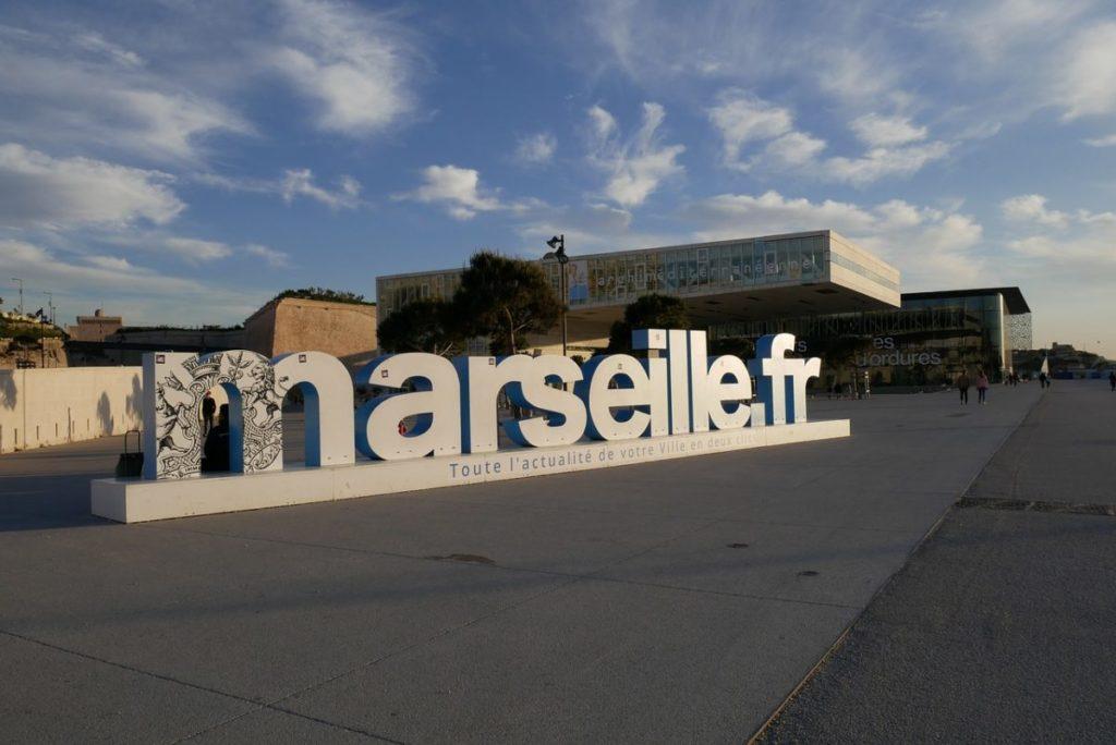 Architektur Museum von Marseille