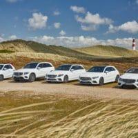 """Immer das passende Auto zum Sommer: die """"Strandflotte"""" von Mercedes-Benz und Europcar auf Sylt"""